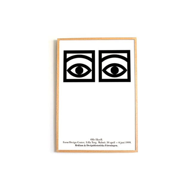 Olle Eksell Cocoa Eyes Poster