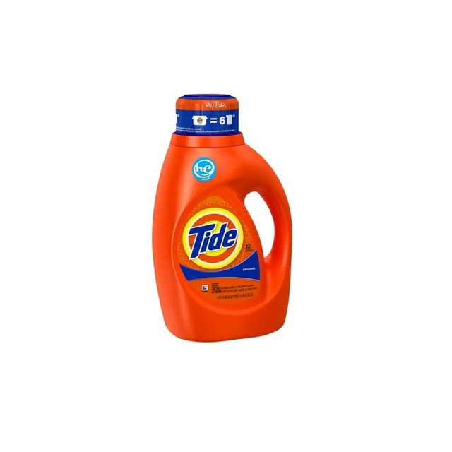 Tide Liquid Laundry Detergent High Efficiency Original