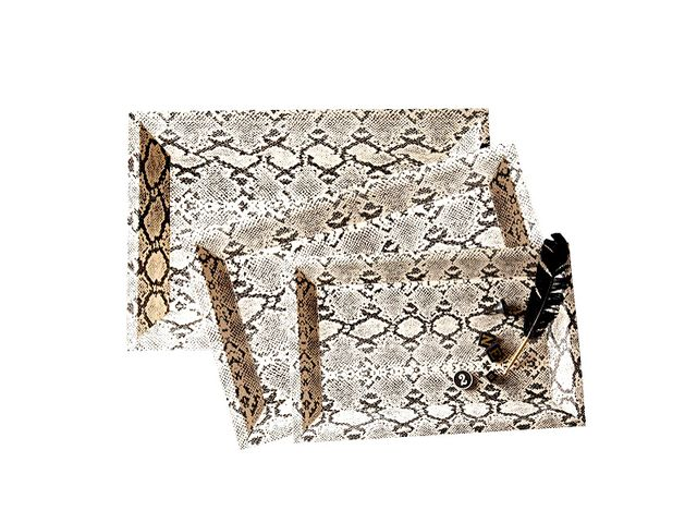 Two's Company Small Python Tray