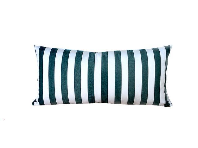 Comforts of Home Decor Striped Outdoor Lumbar Pillow