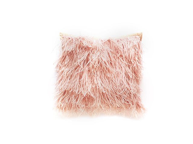 Dransfield & Ross Ostrich Feather Pillow