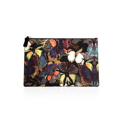Butterfly Leather Pouch