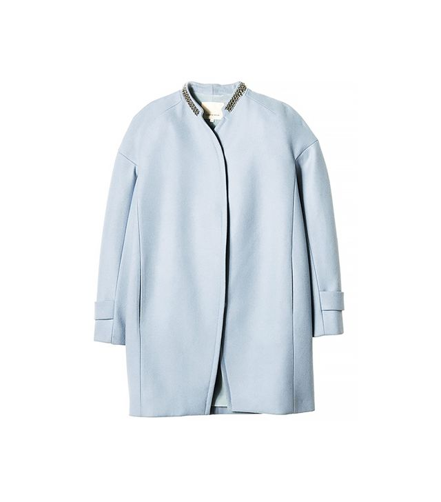 Rebecca Taylor Melton Cocoon Coat