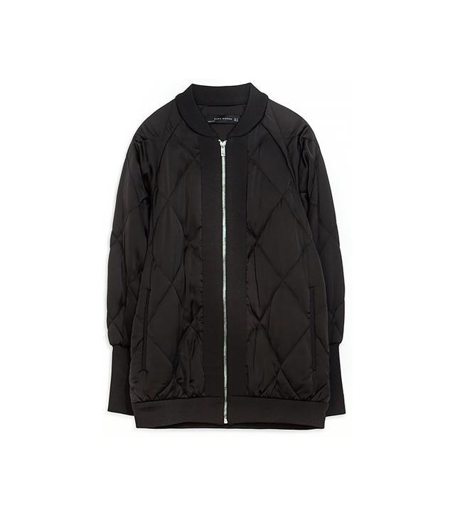 Zara Oversize Bomber Jacket