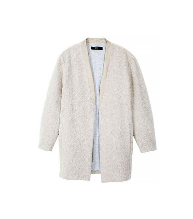 Tibi Mohair Cardigan Coat