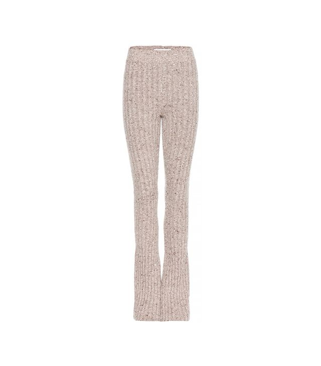 Marc Jacobs Ribbed Cashmere Trousers