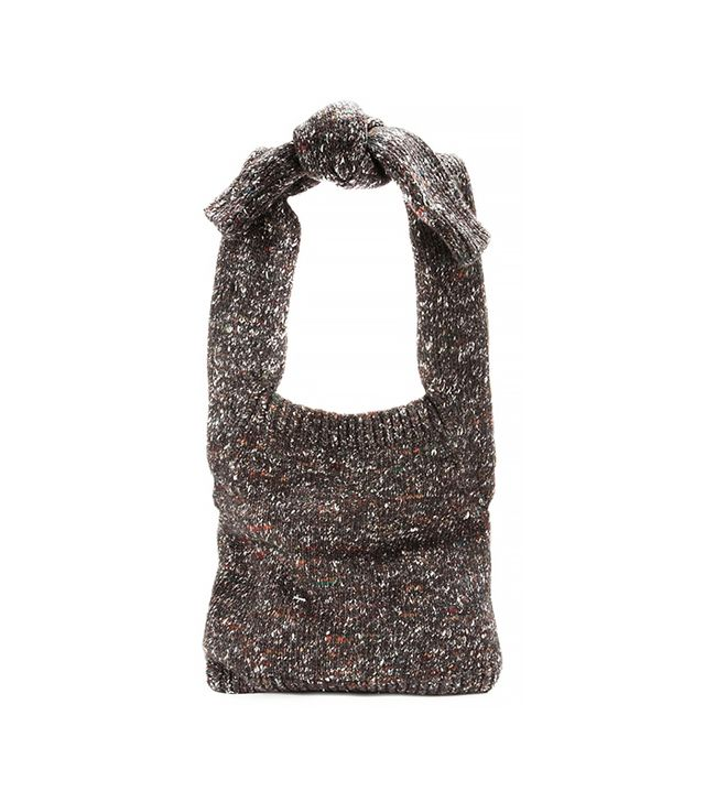 Stella McCartney Wool and Alpaca-Blend Shoulder Bag