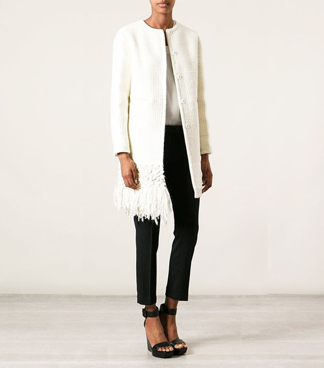 Dondup Fringed Coat