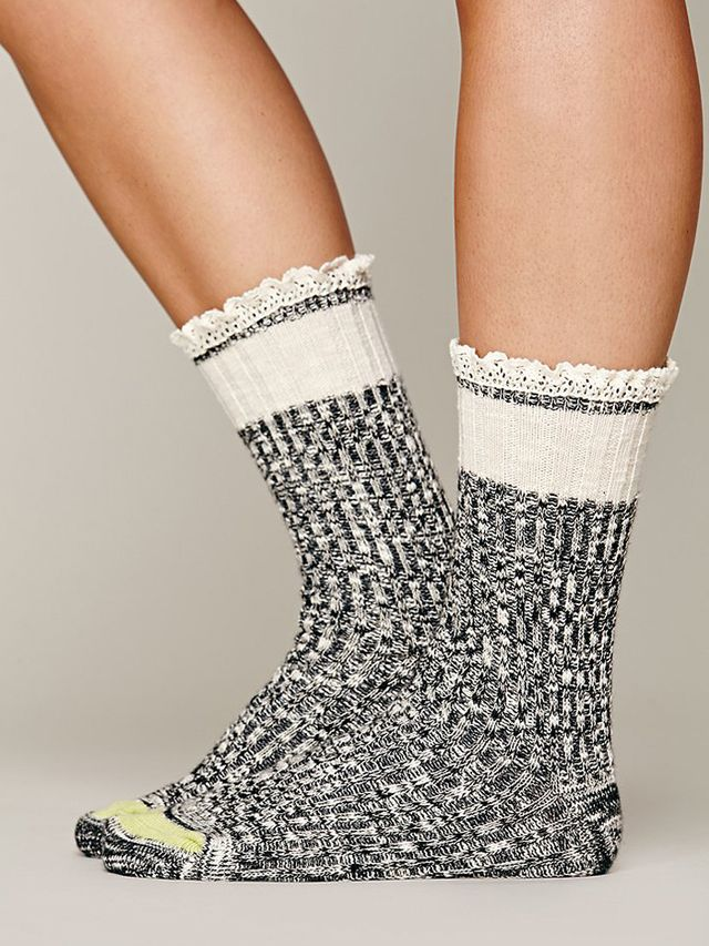 Free People Hiker Heather Highland Socks