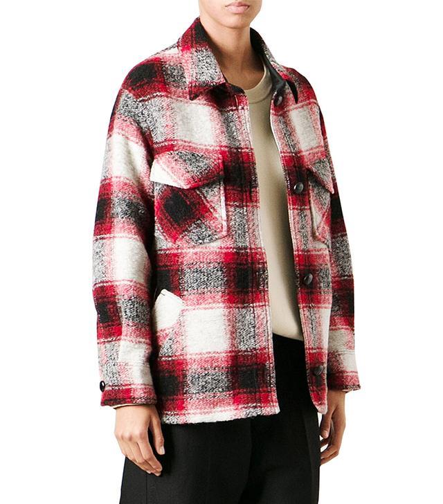 Etoile Isabel Marant Plaid Lumber Jacket