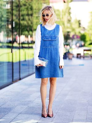 Tip of the Day: Polish Your Denim Dress