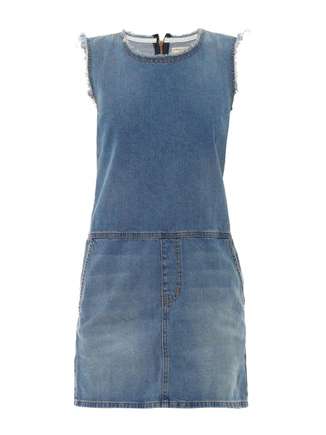 Current/Elliot Shift Denim Dress