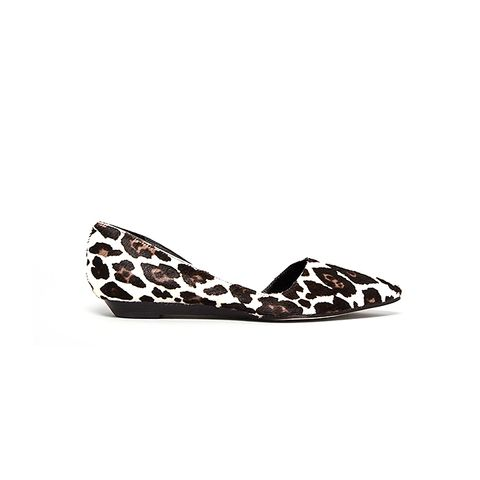 Pointed Tie D'Orsay Flats