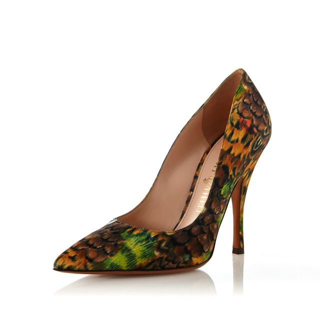 Palter DeLiso Fancy Pumps in Coppers/Rust