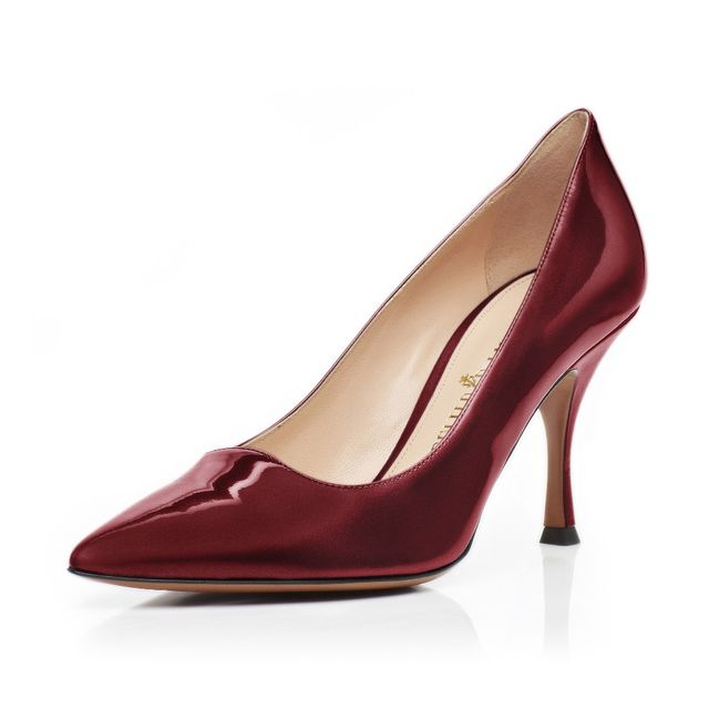 Palter DeLiso Valentina Pumps in Bordeaux