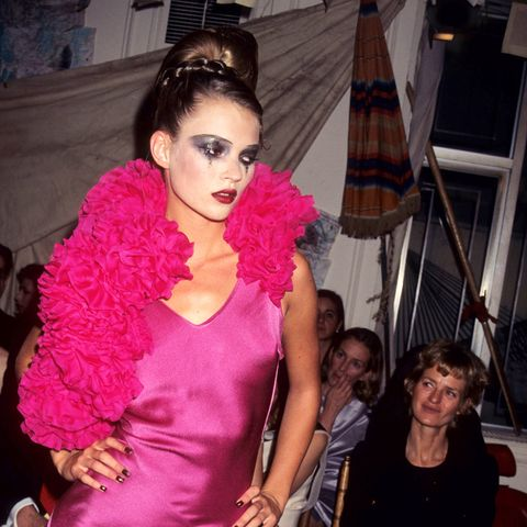 Kate Moss wearing John Galliano in 1995