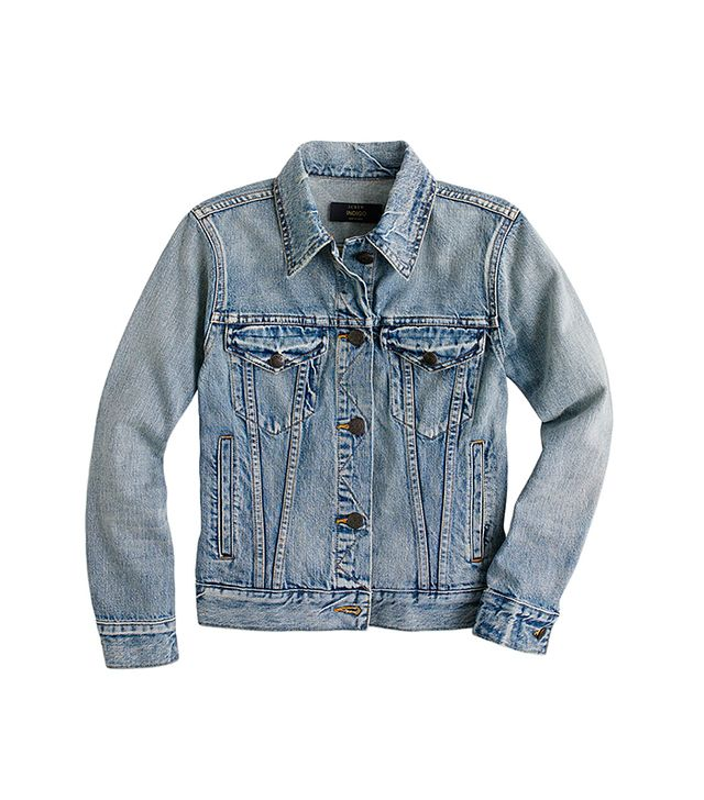 J.Crew Vintage Denim Jacket  in Patina