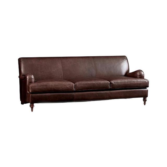 Pottery Barn Carlisle Leather Sofa