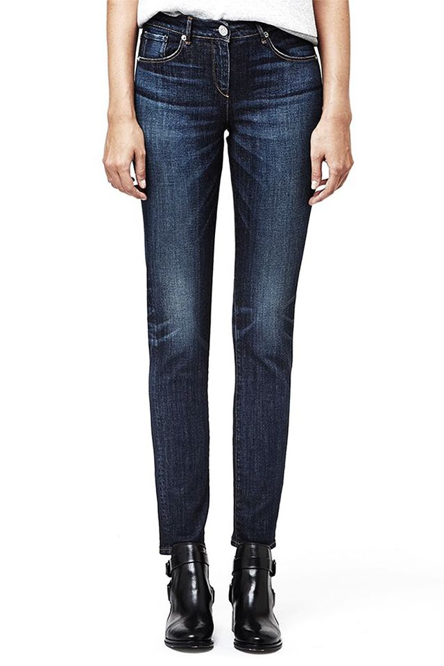 3x1 Mid Rise Straight Jeans
