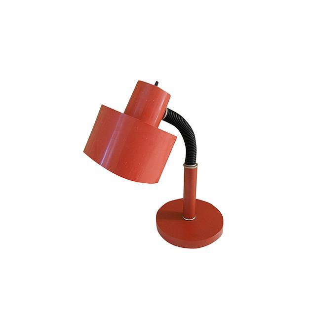 C.N. Burman Co. Retro Orange Desk Lamp by C.N. Burman Co