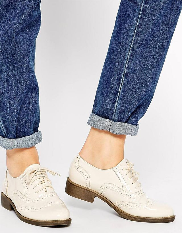 ASOS Makeshift Brogue Lace-Up Brogues