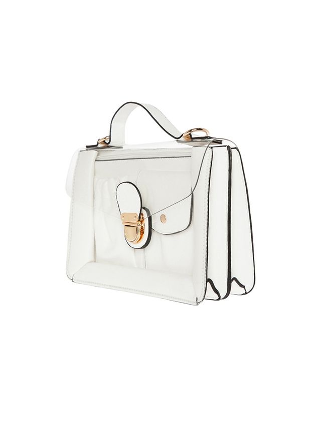 DAILYLOOK Clearly Chic Satchel