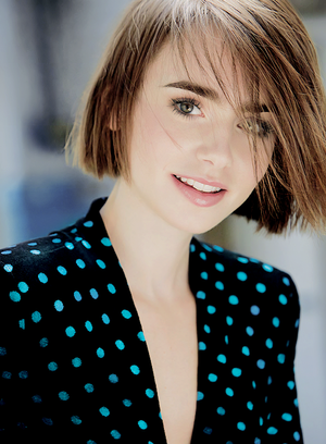Lily Collins Is Marie Claire UK's Latest Cover Star