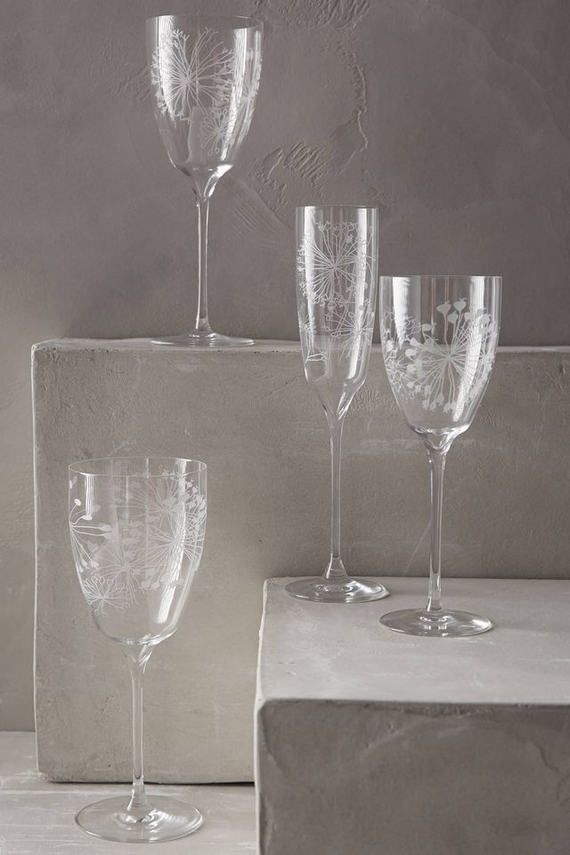 Anthropologie Wishing Globe Stemware