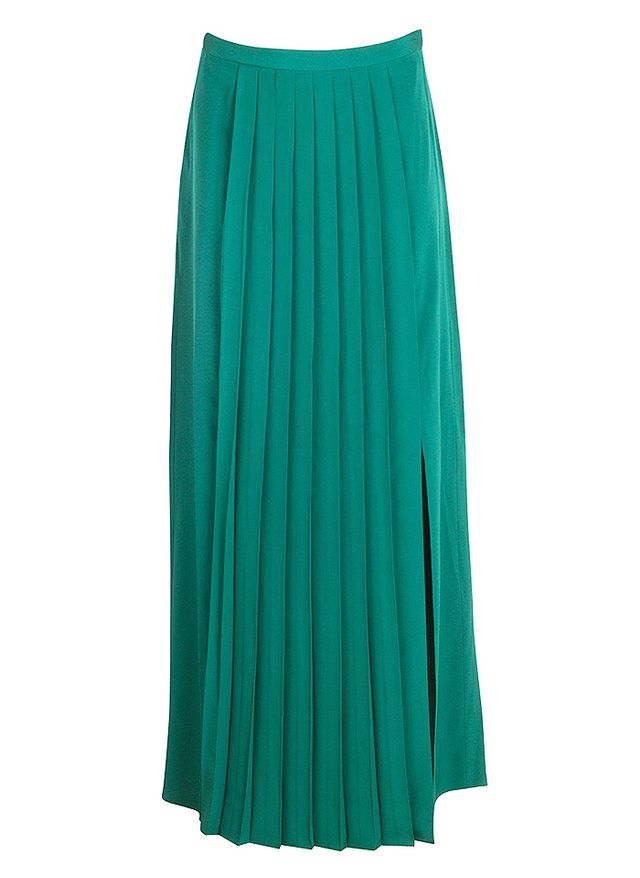 Tibi Basil Pleated Skirt