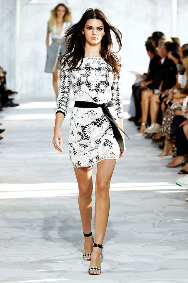 Kendall Jenner Makes Her NYFW Debut in Diane von Furstenberg