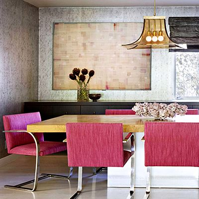 Inside a Midcentury Home with a Feminine Touch