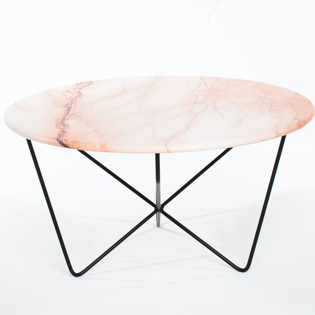 Sean Woolsey A Perfectly Pink Marble Table