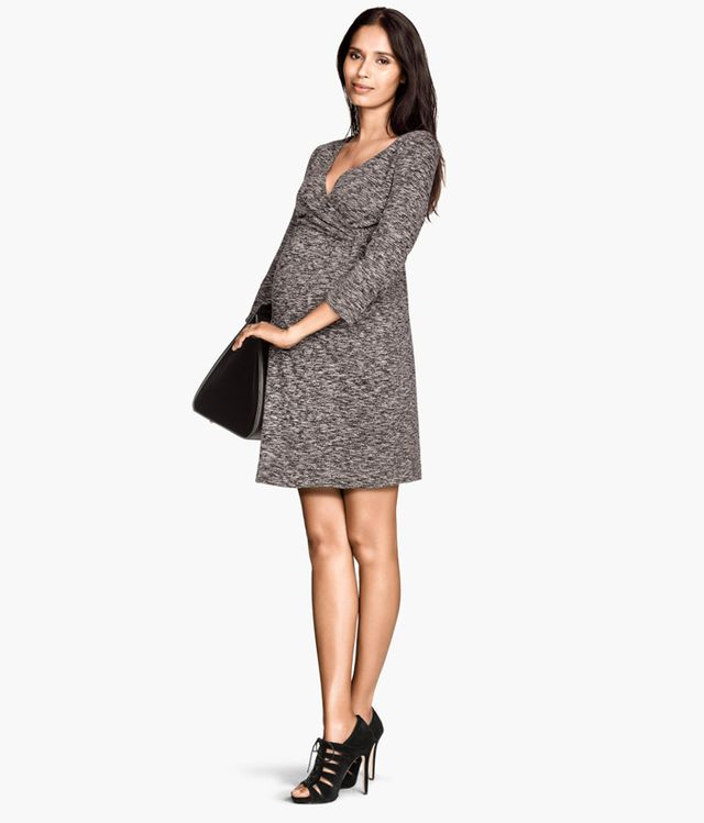 H&M Mama Wrap-Front Dress