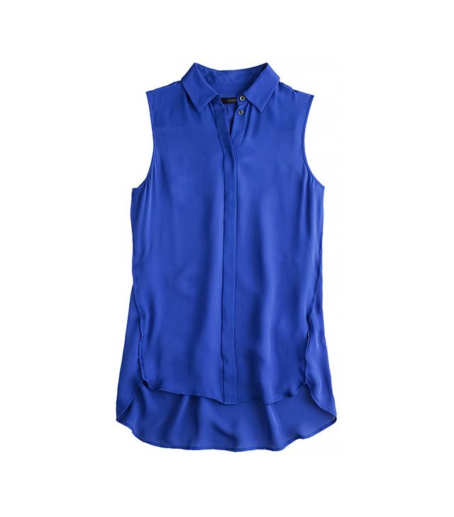 J.Crew Silk Sleeveless Blouse