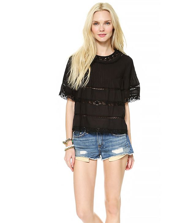 Love Sam Lace Blouse