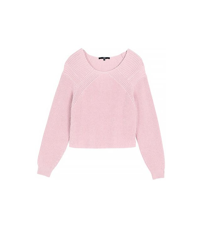 Tibi Plaited Pullover Sweater
