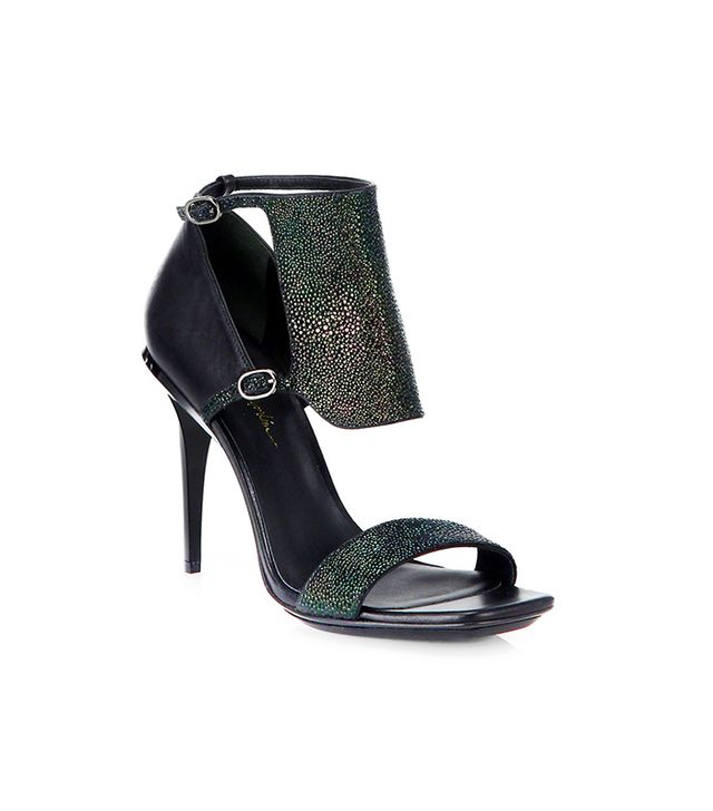 3.1 Phillip Lim Aurora Stingray-Embossed Leather Sandals