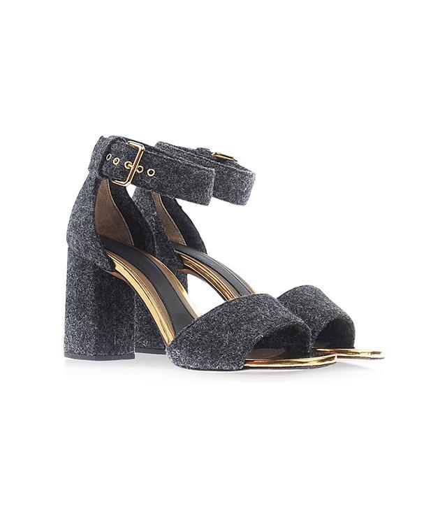 Marni Felt Sandals