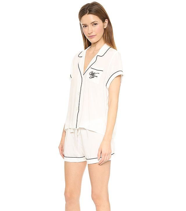 Wildfox Sleep in Late Pajama Set