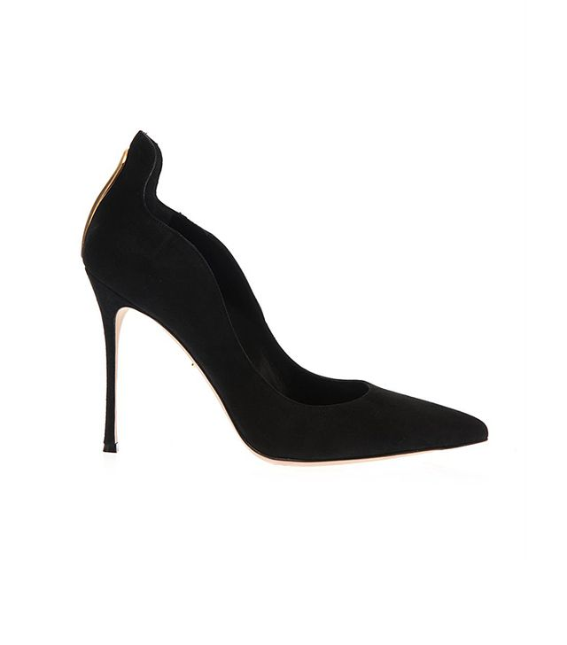 Sergio Rossi Blink Suede Pumps