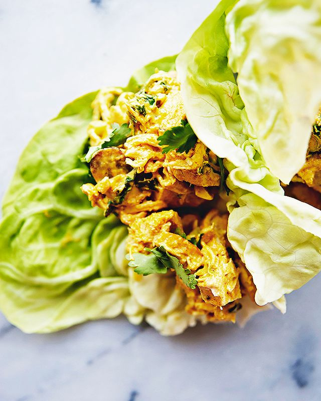 Light and Easy Chicken Salad Lettuce Wraps
