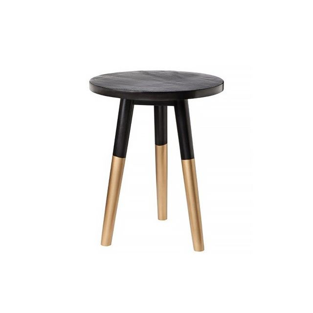 Nate Berkus Black and GOld Accent TAble