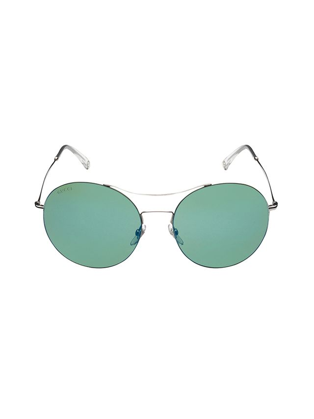 Gucci Techno Colour Ultra-Light Round Sunglasses