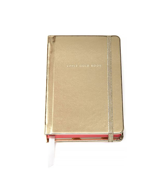 Kate Spade Little Gold Book Medium Notebook