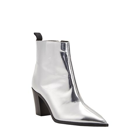Metallic Loma Ankle Boots