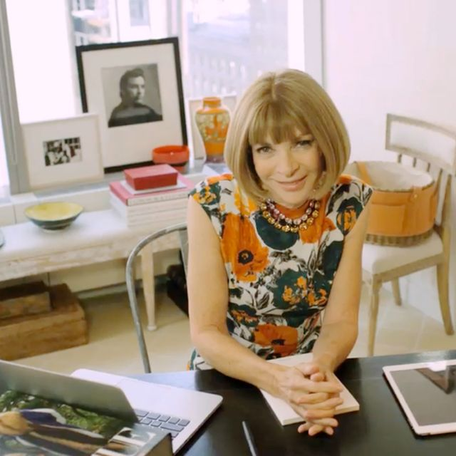 Take the Tour of Anna Wintour's Vogue Office