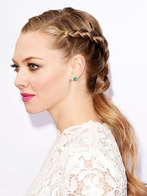 The Trick to Amanda Seyfried's Elegant Braid