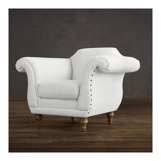Restoration Hardware Regency Upholstered Chair