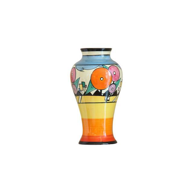 Clarice Cliff A Rare Art Deco Vase