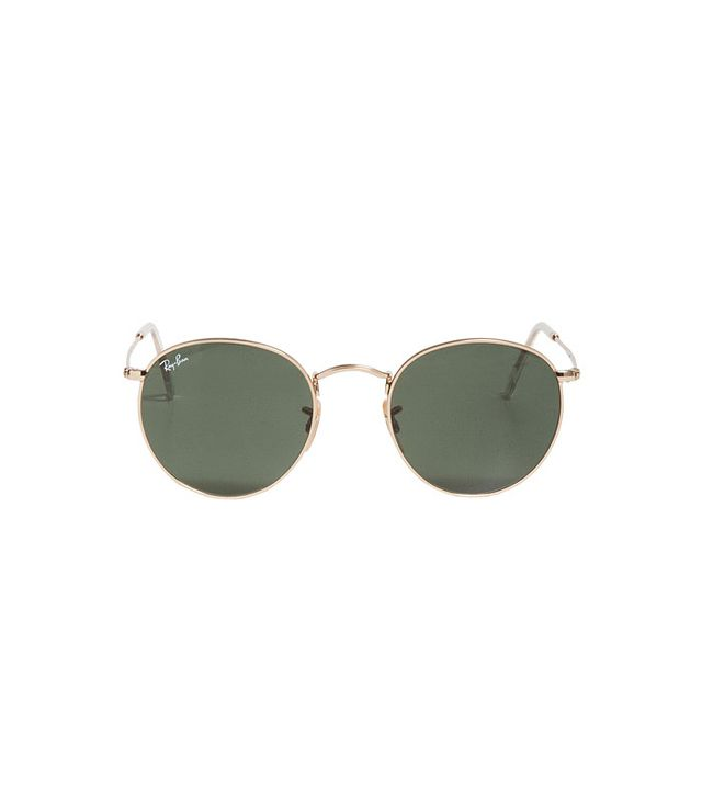 Ray-Ban Round 50mm Metal Sunglasses
